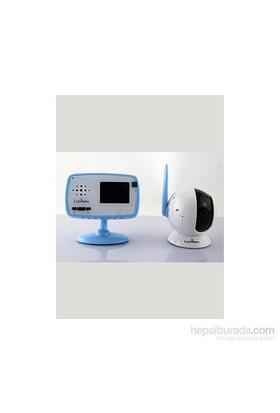 "Loobex Dijital Kameralı Bebek Telsizi (200 mt-2,4""LCD Ekran)"