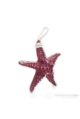 Deniz Yıldızı Duvar Aksesuarı Kırmızı
