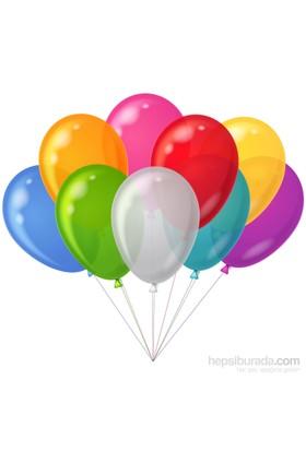 Trio Balon Fuloresan 8 Adet