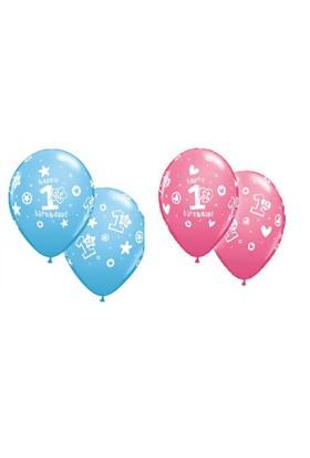 Trio Balon Biryaş 8 Adet
