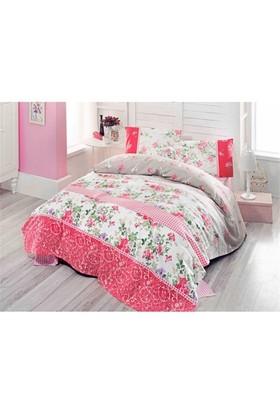 Cotton Sheets Tek Kişilik Pike Jenna Kırmızı