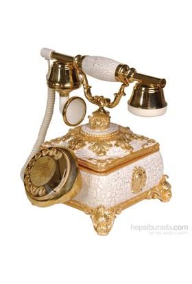 Saray Konak Beyaz Klasik Telefon