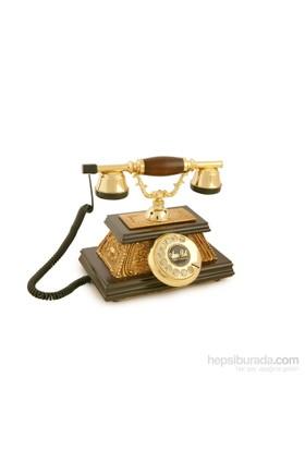 Yalı Altın Varaklı Klasik Telefon