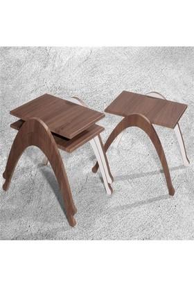 Veys Sehpa 3 Lü Coffe Table Zigon Sehpa