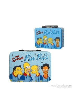 The Simpsons Pin Pals Lunchbox Beslenme Çantası