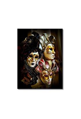 Tictac Venedik Maskeleri 5 Kanvas Tablo - 50X75 Cm