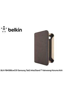 Belkin Blk-F8m386cwc01 Samsung Tab2 Arka/Stand 7` Kahverengi Koruma Kılıfı