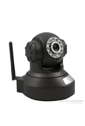 Ducki 7x24 Kayıtlı HD Gece Görüşlü Wifi Pan-Tilt IP Kamera