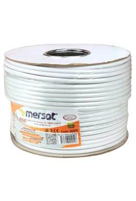 Mersat Rg6/U4 Bakır Anten Kablosu 100 Metre