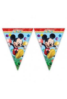 Parti Şöleni Mickey Mouse Bayrak