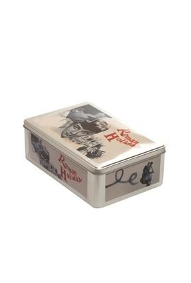 Alara Home Dekoratif Kapaklı Kutu - Büyük Roman Holiday