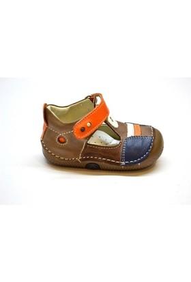 Despina Vandi Bebe İlkadım Deri Ayakkabı Dbb 076-1