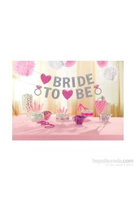 KullanAtMarket Bride To Be Harf Afis 1 Adet
