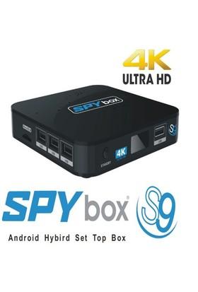 SPYbox S9 4K UHD Android Uydu Alıcısı