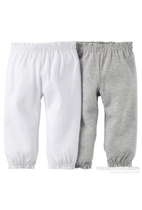 Carter's Layette Kız Bebek 2'Li Pantolon 121D553