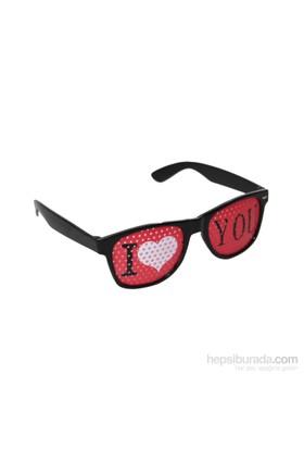 KullanAtMarket I Love You Parti Gözlük 1 Adet