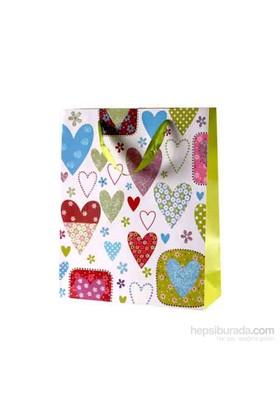 KullanAtMarket Kalpler Dünyası Karton Çanta