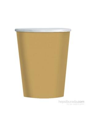 KullanAtMarket Altın Karton Bardak