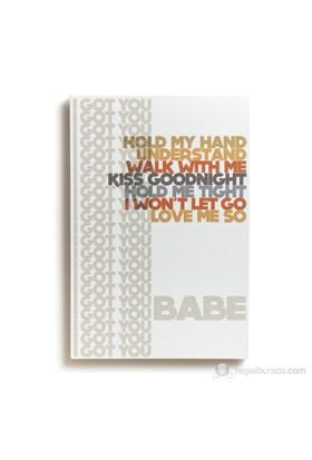 I Got U Babe Kanvas Tablo