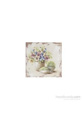Noble Life Vazodaki Çiçekler Tablo