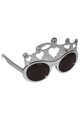 Pandoli Kral Tacı Şekilli Kral Gözlüğü - Gümüş