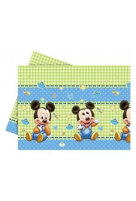 Baby Mickey Mouse Masa Örtüsü