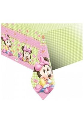 Baby Minnie Mouse Masa Örtüsü