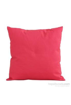 Yastıkminder Koton Mercan Renk Düz Dekoratif Yastık