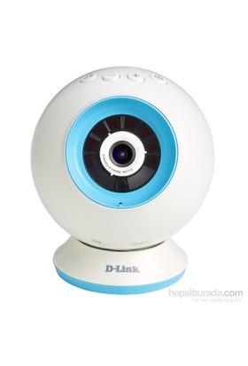 D-Link DCS-825L Wi-Fi 802.11N Bebek Kamerası, Hd Çözünürlük, Gece Görüşü, Microsd/Sdhc Kart Yuvası, Ses Ve Hareket Dedektörü, Isı Ölçer, Nini Opsiyonlu