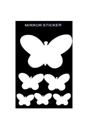 Miror Küçük Kelebek Kırılmaz Ayna