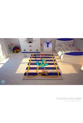 Poypoy Çapa Halat Anti Alerjik Çocuk Halısı 100X150cm