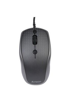 A4 Tech D-530FX-1 Holeless Kablolu Mouse - Siyah
