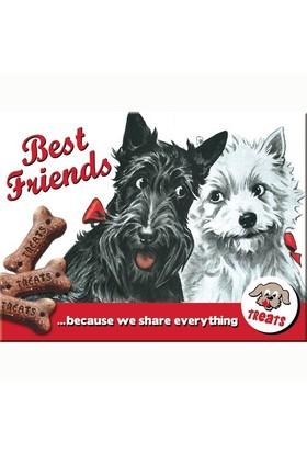 Nostalgic Art Best Friends Magnet 6X8 Cm
