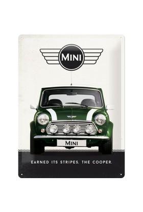 Nostalgic Art Mini Cooper Metal Kabart Malı Duvar Panosu (30X40 Cm)