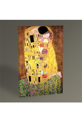 Tablo 360 Gustav Klimt The Kiss Tablo 45X30