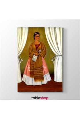 Tabloshop Frida Kahlo - Dedicated To Leon Trotsky Tablosu