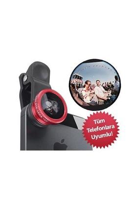 Gift Box Balık Gözü Cep Telefonu Lensi (Tüm Modellere Uyumlu)