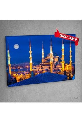 Cami-Dmc102 Led Işıklı Kanvas Tablo 50X70 Cm