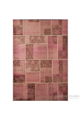 Concepta Patchwork Vals Pw22 Pink 78X150 Halı