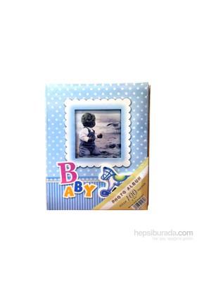 100'Lük Bebek Pencereli Fotoğraf Fotoğraf Albümü 3'Lü Set