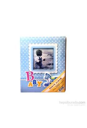 200'Lük Bebek Pencereli Fotoğraf Fotoğraf Albümü 2'Li Set