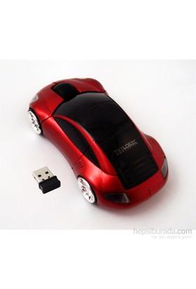 Trilogic M20 2.4GHz 3D Kırmızı Nano Kablosuz Araba Mouse