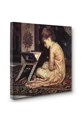 Tabloshop - Kitap Okuyan Kız Tablosu