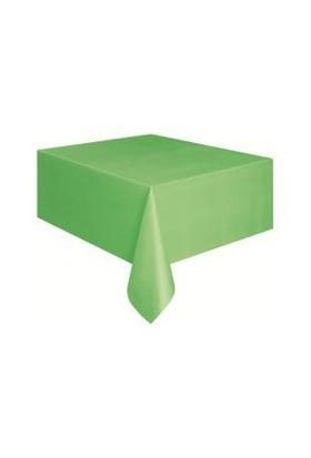 Parti Şöleni Yeşil Masa Örtüsü 1 Adet