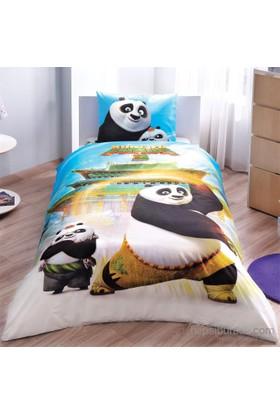 Lisanslı Tek Kişilik Kung Fu Panda Movie Nevresim Takımı