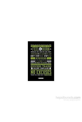 Maxi Poster Gym Motivational