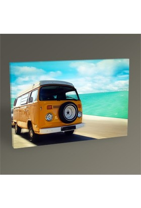 Tablo 360 Retro Beach Van Tablo 45X30