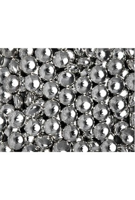 Toptansüs Gümüş Draje Şekilli Bonbon 1Kg 25 Gr.