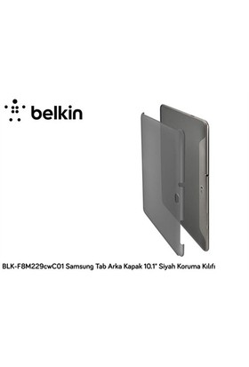 "Belkin Blk-F8m229cwc01 Samsung Tab Arka Kapak 10.1"" Siyah Koruma Kılıfı"