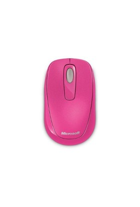 Microsoft Wireless Mobile 1000 Pembe Mouse (2CF-00034)